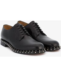 Valentino - Studded Derby Shoes - Lyst