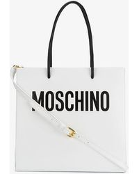Moschino - Monochrome Tote Bag - Lyst