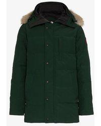 Canada Goose - Carson Fur Trim Hooded Coat - Lyst