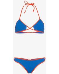 ACK - Linea Contrast String Bikini - Lyst