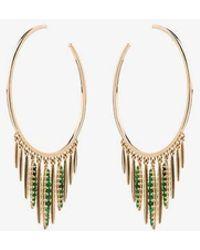 Ileana Makri - Grass Sunset Hoop Earrings - Lyst