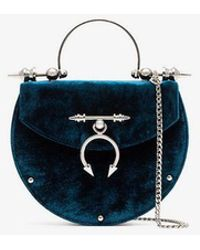 OKHTEIN - Turquoise Oak Mini Velvet Cross-body Bag - Lyst