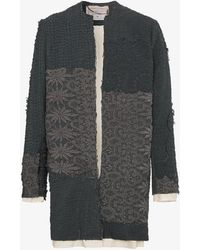 By Walid - Alex Floral Crochet Coat - Lyst