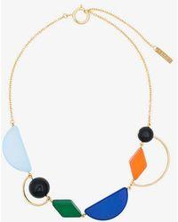 Marni - Geometric Design Necklace - Lyst