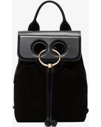 J.W.Anderson - Black Mini Pierce Backpack - Lyst