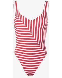 Araks - Harley Striped Swimsuit - Lyst