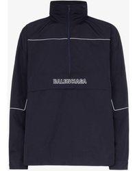 Balenciaga - Zipped Logo Jacket - Lyst