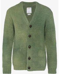 Visvim - Selmer Knitted Wool Cardigan - Lyst