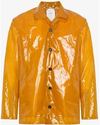 Jil Sander - Plastic Raincoat - Lyst