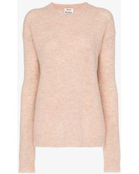 Acne Studios - Knitted Slouchy Wool Jumper - Lyst
