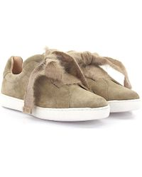 Unützer - Sneakers 8015 Suede Beige - Lyst