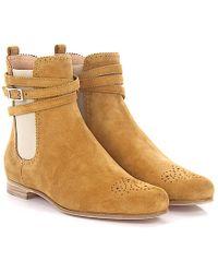 Chelsea Boots 999 suede beige Un HzcHZg2