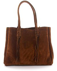 Lanvin - Fringed Tote - Lyst