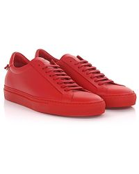 Givenchy - Urban Street Low-top Leather Trainers - Lyst
