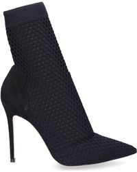Gianvito Rossi - Ankle Boots Vox Textile Black - Lyst
