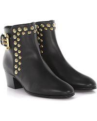 Giuseppe Zanotti - Boots Nicky Nappa Leather Black Studs - Lyst
