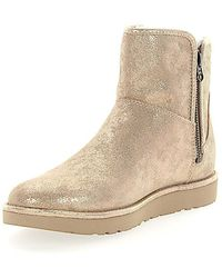 UGG Stiefeletten Boots ABREE MINI Veloursleder gold finished 8xpTSga5ip