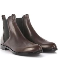 Agl Attilio Giusti Leombruni - Agl Boots Leather Brown - Lyst