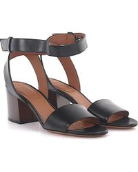 Givenchy - Sandals 6 Paris Ankle Strap Leather Black - Lyst