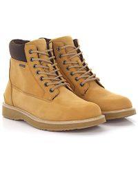 Swims - Boots Barry Workboot Nubuck Leather Beige - Lyst