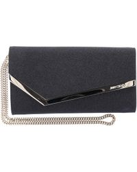 c8dd160fc57 Jimmy Choo Mini Ruby Lamã© Glitter Crossbody Bag in Metallic - Lyst