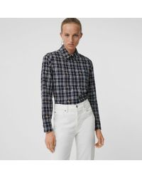 728efb314 Gucci Sky Blue Short Sleeve Shirt From Equestrian Collection in Blue ...