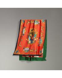 Burberry - Archive Scarf Print Silk Scarf - Lyst