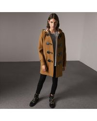 Burberry - The Mersey Duffle Coat - Lyst