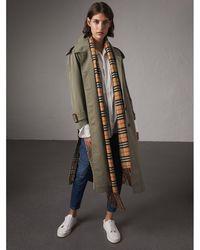 Burberry - Tropical Garbadine Trench Coat - Women | - Lyst