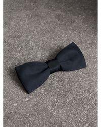 Burberry - Silk Bow Tie - Lyst