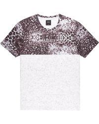 b606a3d1 Burton - Multicoloured Animal Print Cut And Sew T-shirt - Lyst