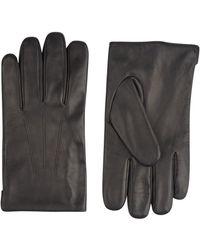 Burton - Black Leather Gloves - Lyst