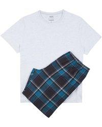 Burton - Neppy Marl Short Pyjama Set - Lyst