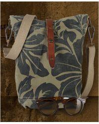 382f670879f3 Denim   Supply Ralph Lauren - Floralprint Leathertrim Canvas Shoulder Bag -  Lyst
