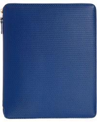Comme des Garçons Zip Around Tablet Case blue - Lyst