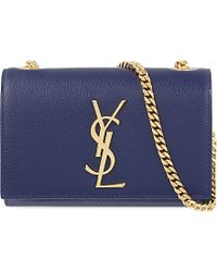 Saint Laurent Small Chain Clutch Bag - For Women - Lyst