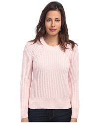 Kate Spade Winter Wool Side Zip Sweater - Lyst