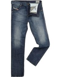 Diesel Buster 831q Mid Wash Regular Taper Jeans - Lyst