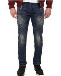 True Religion Rocco Moto Jeans In Rough Trail - Lyst