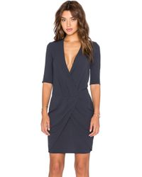 IKKS - Croisee Dress - Lyst