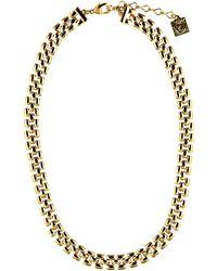 Anne Klein - Chain Link Necklace - Lyst