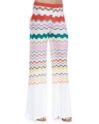 Missoni Wavy-pattern Pull-on Pants - Lyst