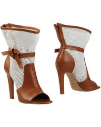 Viktor & Rolf Ankle Boots brown - Lyst