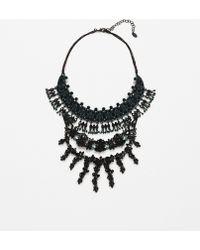 Zara | Jewel Pendant Necklace | Lyst