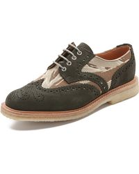 Mark Mcnairy New Amsterdam Press Brogue Shoes - Lyst