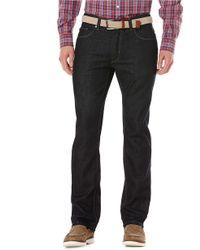 Perry Ellis - Dark Indigo Rinse Jeans - Lyst
