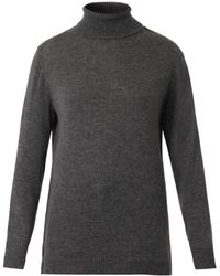Nina Ricci Lacetrimmed Rollneck Sweater - Lyst