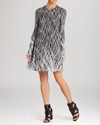 BCBGMAXAZRIA Bcbg Max Azria Dress  Jeanna Brushstroke Print - Lyst