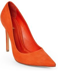 Schutz Orange Gilberta Pumps - Lyst