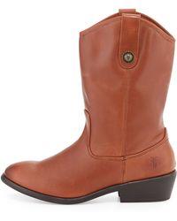 Frye Melissa Button Boots - Lyst